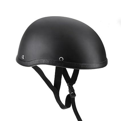 Ocamo Sombrero de Casco de Motocicleta Profesional Unisex para Harley Chopper Bobber