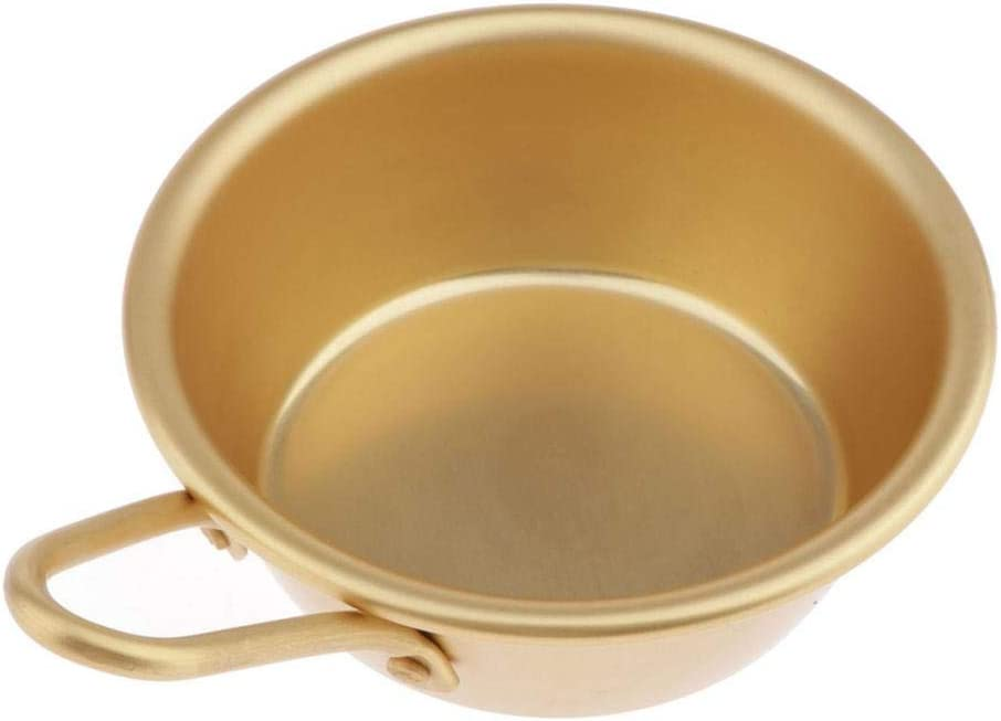 Nickel Silver Plated Aluminum Traditional Bowls for Korean Raw Wine Ramen Noodles