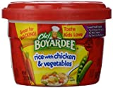 chicken and rice bowl - Chef Boyardee Rice with Chicken and Vegetables, 7.5 oz