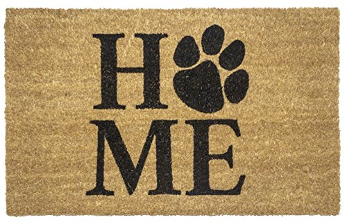 Entryways Pet Home Non- Slip Coconut Fiber Doormat 17