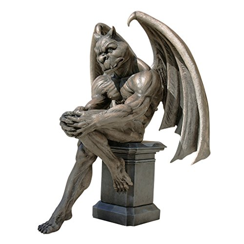 Design Toscano Socrates, the Gargoyle Thinker Sculpture -