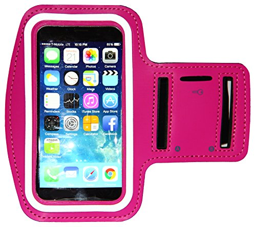 iphone-6-6s-armband-running-exercise-sportband-47-inch-with-key-holder-reflective-band-hot-pink