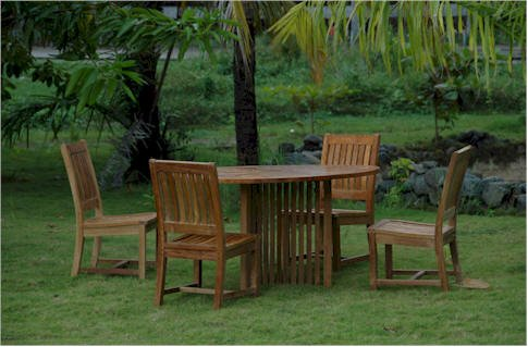 SET-112B 7-Piece Dining Set with 94 Rectangular Extension Table and 6 Wilshire Dining Armchair