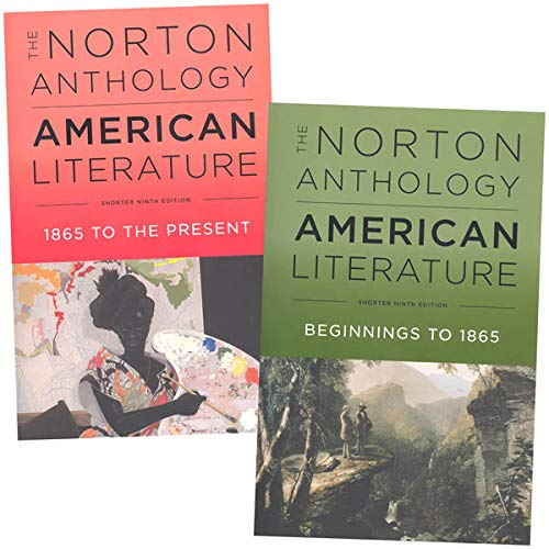 The Norton Anthology of American Literature, 9e Shorter 2-Volume Set with access card for each volume