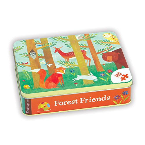 Mudpuppy Forest Friends 100 Piece Puzzle