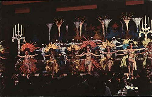 (Stardust Hotel - Lido de Paris Las Vegas, Nevada Original Vintage Postcard)