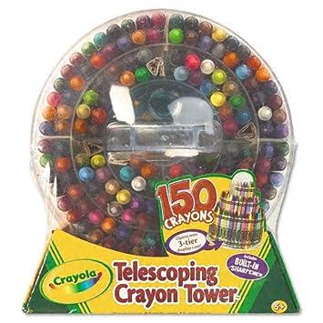 Amazoncom Crayola Products Crayola Telescoping Crayon Tower