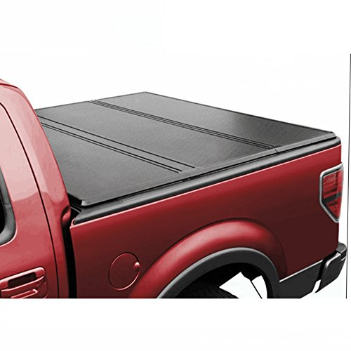 U-Drive Auto Lock Tri-Fold Hard Solid Tonneau Cover For 1997-2003 Ford F-150 With 6.5ft / 78in Bed (Tech Fold Tri)