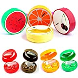 YANQINA New Fruit Contact Lens Case Soak Storage Box Portable Pocket Contact Lens Case