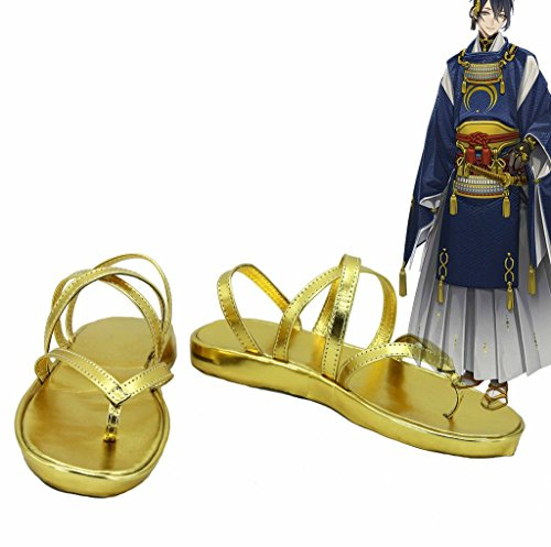 Touken Ranbu Online Game Mikazuki Munechika Cosplay Shoes Boots Custom Made ShhAcQBWW