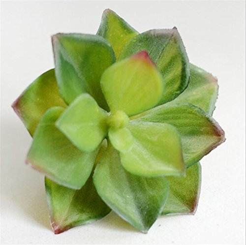 Artificial Succulents Lifelike Mini Artificial Plants Fake Flower Christmas Wedding Decorations For Home Plantas Artificiales Green