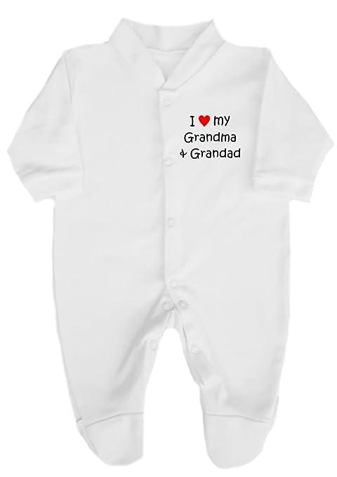 The Bees Tees I Love (corazón rojo) My Abuela y Abuelo - Babygrow ...