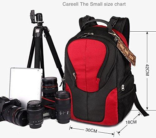 Z&HXsacchetto di spalla casuale impermeabile moda multifunzionale Fotografia borse fotocamera reflex , blue , trumpet
