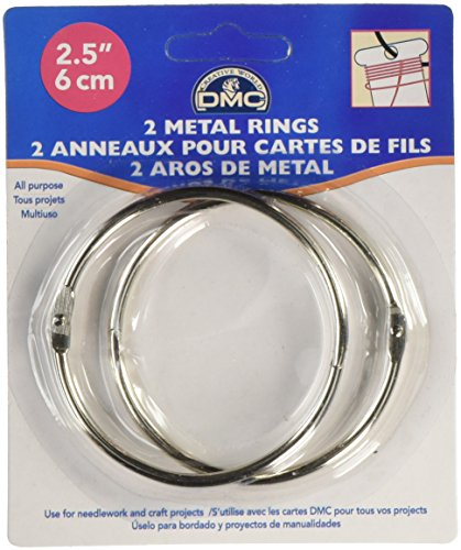 (DMC 6110 Metal Rings, 2-1/2-Inch)