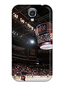 Excellent Galaxy S4 Case Tpu Cover Back Skin Protector Phoenix Coyotes Hockey Nhl (39)