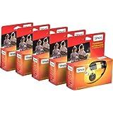 TopShot - set di 5 fotocamere usa e getta, da 27 foto, con flash automatico incorporato