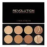 Makeup Revolution 8 Bronzing Powders Contouring Palette