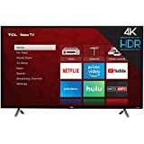 TCL 43S405 43-Inch 4K Ultra HD Roku Smart LED TV (2017 Model)