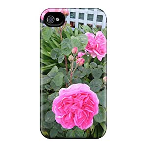 Cute Tpu Speckcases Roses Case Cover For Iphone 4/4s