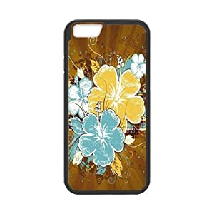 IPhone 6 Cases Floral, Case for Iphone 6 Patterns - [Black] Okaycosama