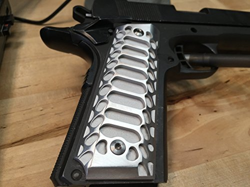 1911 Government/Commander Full Size Grips Aluminum DUO FINISH