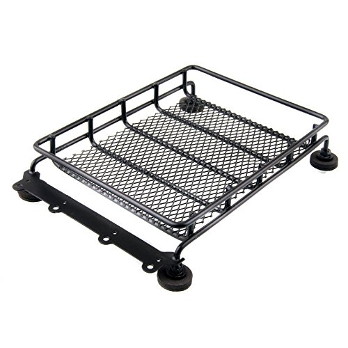 Price comparison product image Shaluoman RC 1:10 Roof Luggage Rack For 4WD Wrangler Crawler CC01 SCX10 Axial HPI Truck