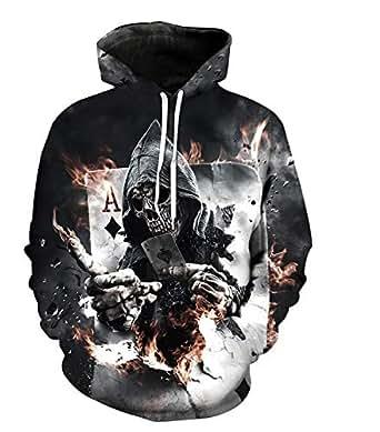 skull Hoodies For Women Men fashion Streetwear Clothing Hooded Sweatshirt 3d Print Hoody casual Pullover mm