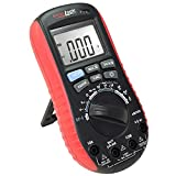Digital Multimeter with Battery Tester – Accurate Fast Auto Ranging DMM for AC/DC Voltage and Current, Resistance, Continuity, Battery Load Test, Diode, Non-Contact AC Power Detect ennoLogic eM530S