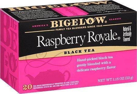 Tea Raspberry Bags - Bigelow Raspberry Royale Tea Bags - 20 ct (Pack of 2)
