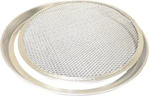 Allied Metal CCPPS8X2 Pizza Pan with Removable Screen Bottom, Tapered Design, 8 by 2-Inch