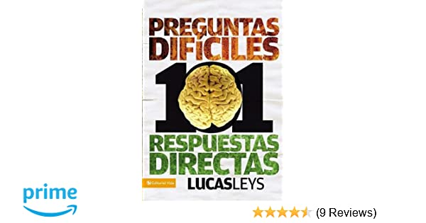 101 Tough Questions, 101 Straight Answers (Especialidades Juveniles)