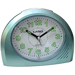 Casio TQ358-3D Bell Desktop Alarm Clock Lt. Blue