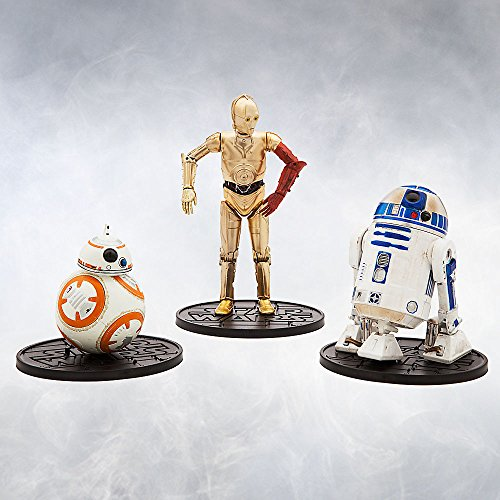 Star Wars Droid Gift Pack Elite Series Die Cast Action Figure Set Star Wars: The Force Awakens (Wars Star Diecast)