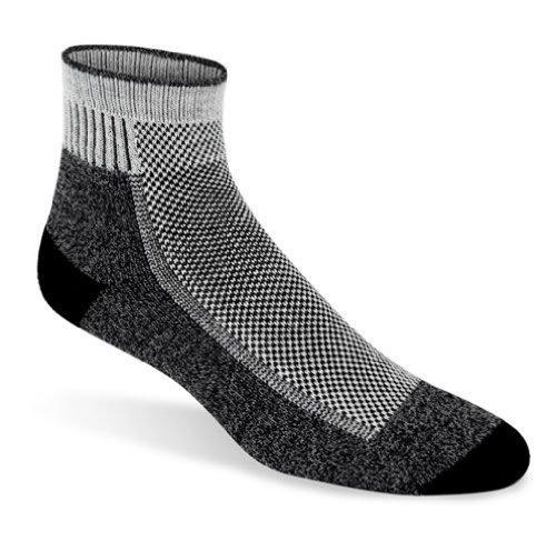 Wigwam Ultimax Cool-Lite Mid Hiker Sock,Black ()