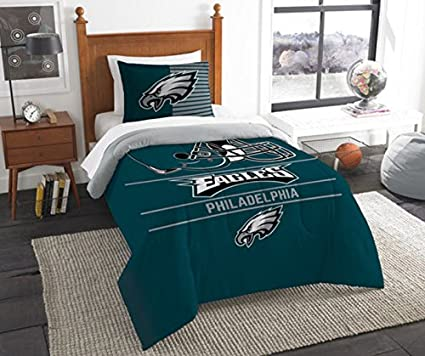 Merveilleux Philadelphia Eagles Bedding Set Sham NFL 2 Piece Twin Size 1 Comforter 1  Sham Football Linen
