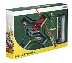 Bosch Maletin  X-Line 54 + Nivel laser PLL5