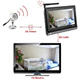 BW 7 inch Wireless baby monitor with 24 IR Led cctv security camera