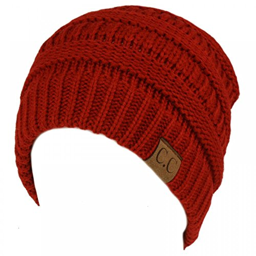 RD47_(US Seller)Winter Warm Hat Knit Beanie Hat by 9Proud