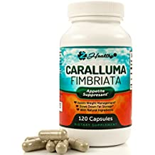 Caralluma Fimbriata Weight Loss Support Supplements, Natural Appetite Suppressant for Women & Men, Supportive Carb Blocker Diet Pills, Metabolism Booster and Fat Burner, 120 Capsules