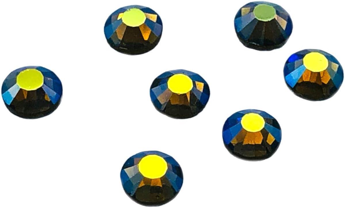 cristales decorativos brillantes con la parte trasera plana para poder pegarse Paquete de 1440 unidades de diamantes de imitaci/ón de Eimass 7767 DMC