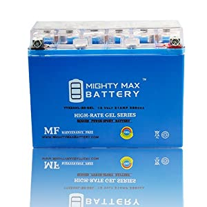 YTX24HL-BS 12V 21AH GEL Battery for Yamaha 920 XV920R Virago 1981-83 - Mighty Max Battery brand product