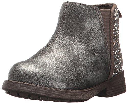 Price comparison product image Oshkosh B'Gosh Girls' Daria Glitter Ankle Boot,  Brown,  7 M US Toddler