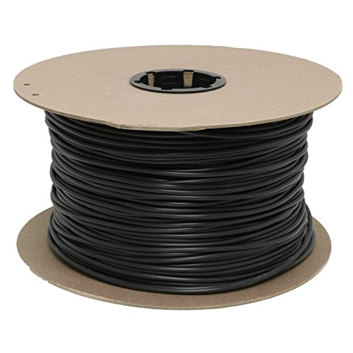 Drip Depot Vinyl Tubing - Size : 1/8 - Length : 1000' - Color : Black (Part 2254) by Drip Depot