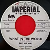 MAJORS Anything You Can b/w What In The World 45 rpm Imperial X5914 Audition Ver