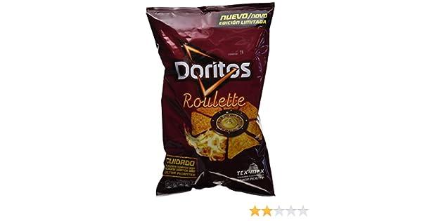 Doritos - Roulette - Producto de aperitivo de maíz frito - 180 g