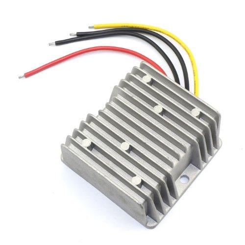 12V 24V to 9V Converter, DROK 10A DC Synchronous Buck Converter Voltage Regulator 10-35V to 9VDC Step Down Transformer Power Supply ()