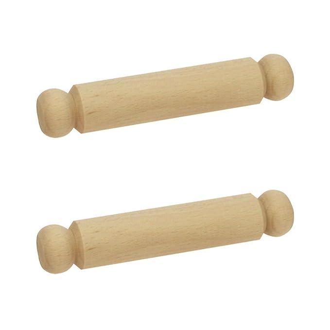 Bigjigs Toys Petit rouleau à pâtisserie (lot de 2)
