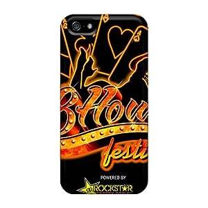 Bumper Hard Phone Cover For Iphone 5/5s (Qua12493qMGj) Allow Personal Design Trendy Avenged Sevenfold Skin