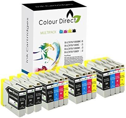 15 Colour Direct LC970 / LC1000 Impresora Cartuchos de Tinta Para ...