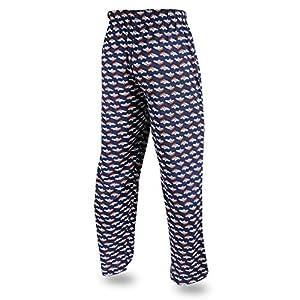 Men's NFL Team Logo Print Comfy Jersey Pants